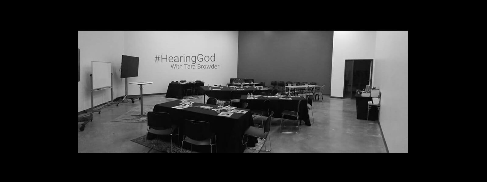 Hearing God Workshop with Tara Browder